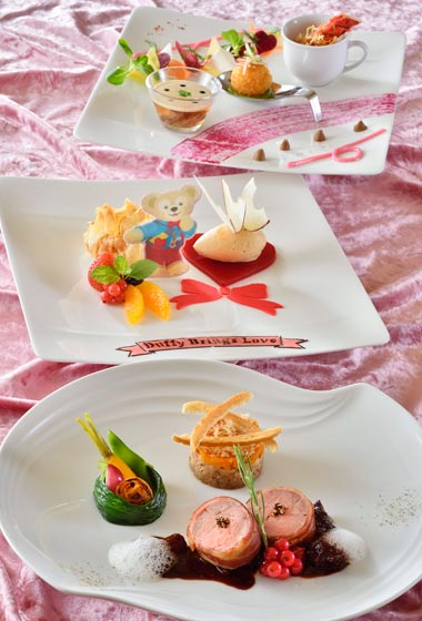 Sweet Duffy Lunch Course ¥4,940