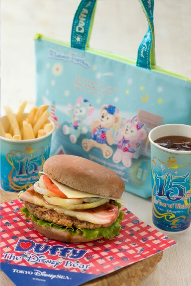 Special Burger Set With Souvenir Lunch ¥1,950 Meal Only ¥990 Sets Includes Bacon Burger with a Cocoa Bread Bun Fries Soft Drink