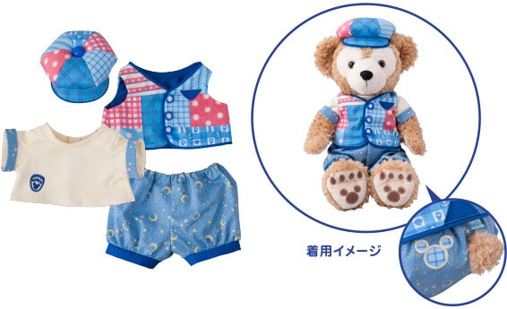 Duffy Costume Set ¥4,300