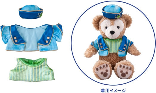 Duffy Crystal Wishes Journey Costume Set ¥3,900