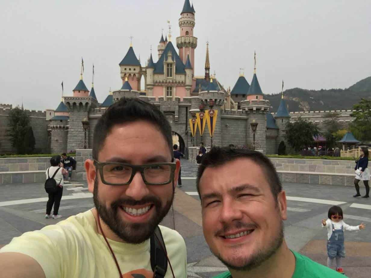 Final Park Hong Kong Disneyland Chris Nilghe and John Himpe
