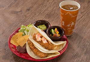 Seafood Tacos Set ¥1,180 Separately ¥970
