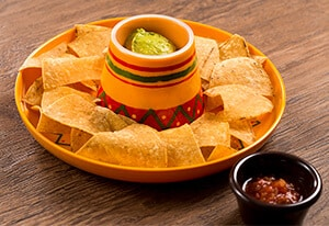 Tortilla Chips, with Salsa and Avocado Dip ¥490