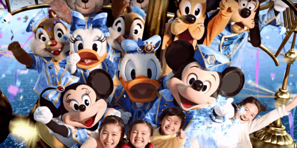 Tokyo DisneySea The Year of Wishes TV Commercial