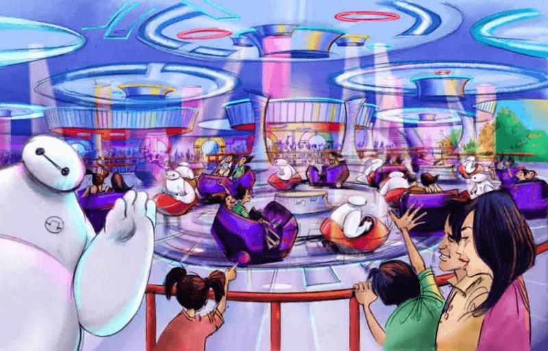 Big Hero 6 Baymax Attraction Tokyo Disneyland Tomorrowland