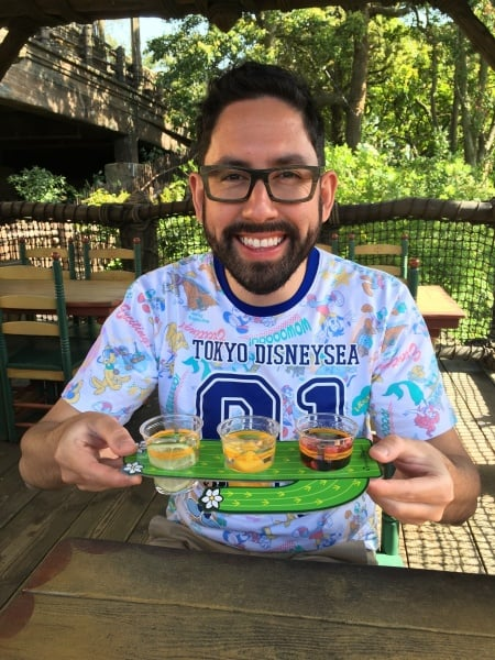 Enjoying Tequila Cocktails at Tokyo DisneySea