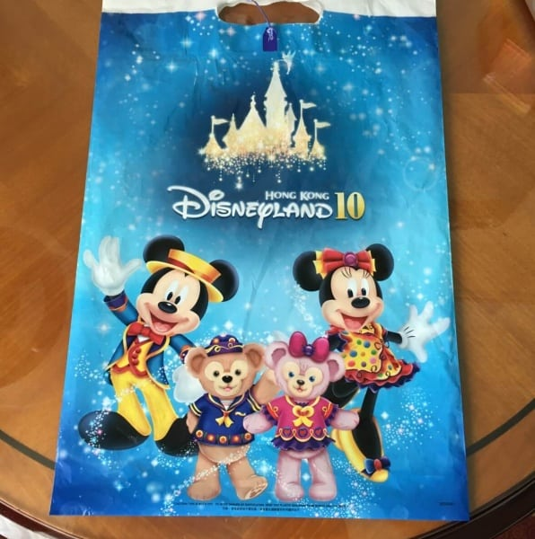 Hong Kong Disneyland 10th Anniversary Bags