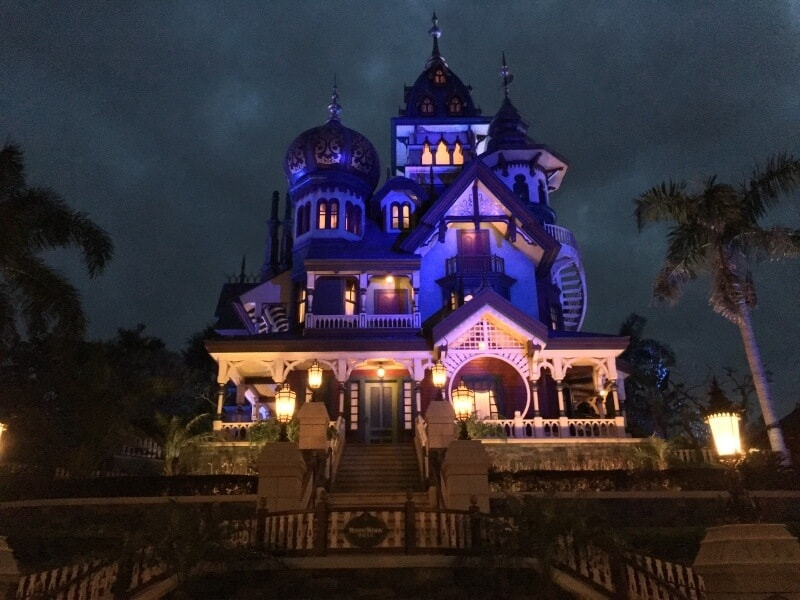 Mysic Manor Evening Hong Kong Disneyland