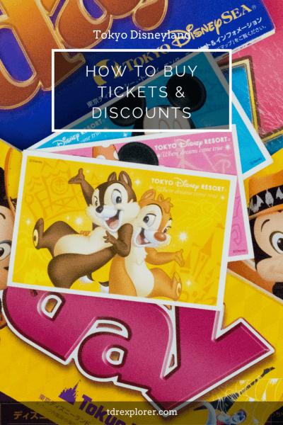 Tokyo Disneyland Park Tickets Guide Pinterest