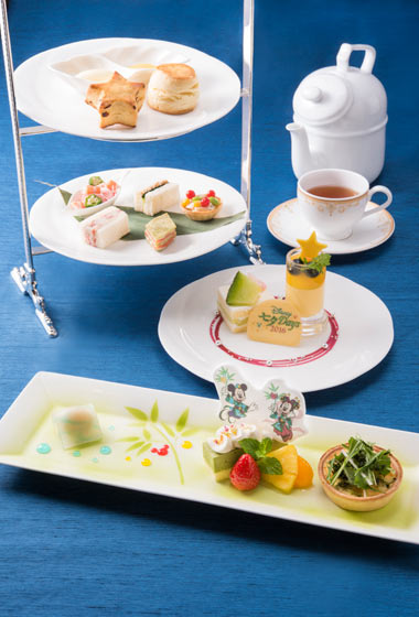 Afternoon Tea Set ¥3,400 Available at the Dreamers Lounge