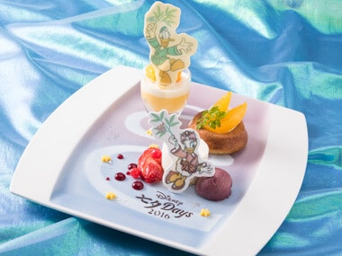 Character Desserts ¥1,650 Available at the Dreamers Lounge