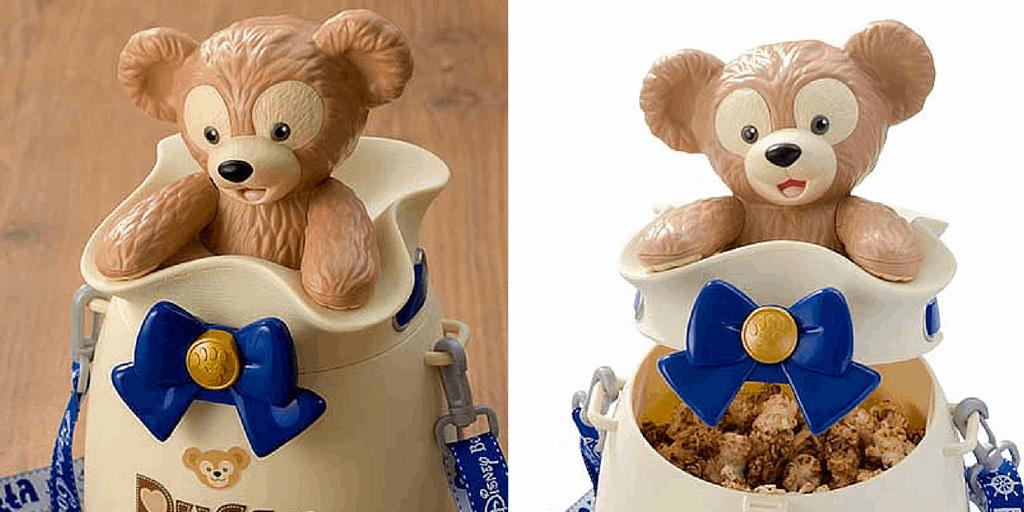 New Duffy Popcorn Bucket at Tokyo DisneySea