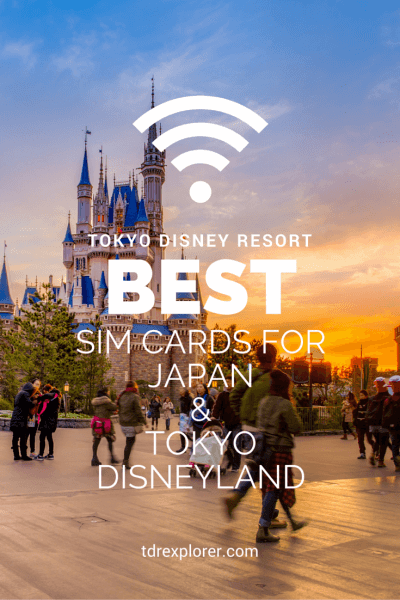 Guide to SIM Cards in Japan & Tokyo Disneyland Pinterest