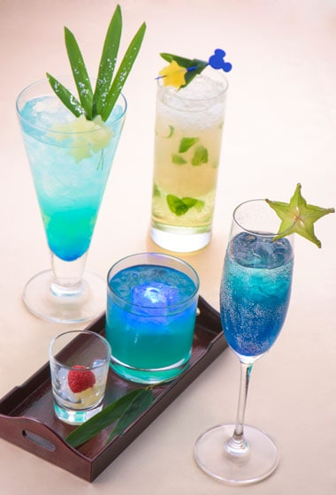 Special Non Alcoholic Cocktail with Wishing Card ¥1,300 Available at the Hyperion Lounge