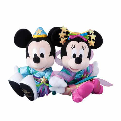 Mickey & Minnie Soft Toy Set ¥5,000