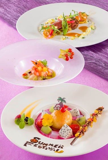 Bella Vista Lounge Lunch Course ¥ 4,940 Available between 11.30 am - 2.30 pm at the Bella Vista Lounge Please Note: Priority Seating is required