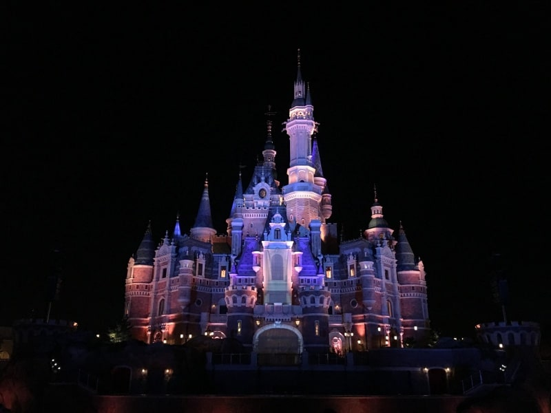 Enchanted Storybook Castle Shanghai Disneyland