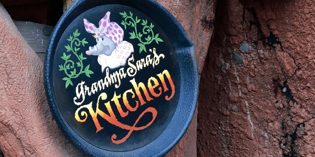 Grandma Sara's Kitchen Review at Tokyo Disneyland