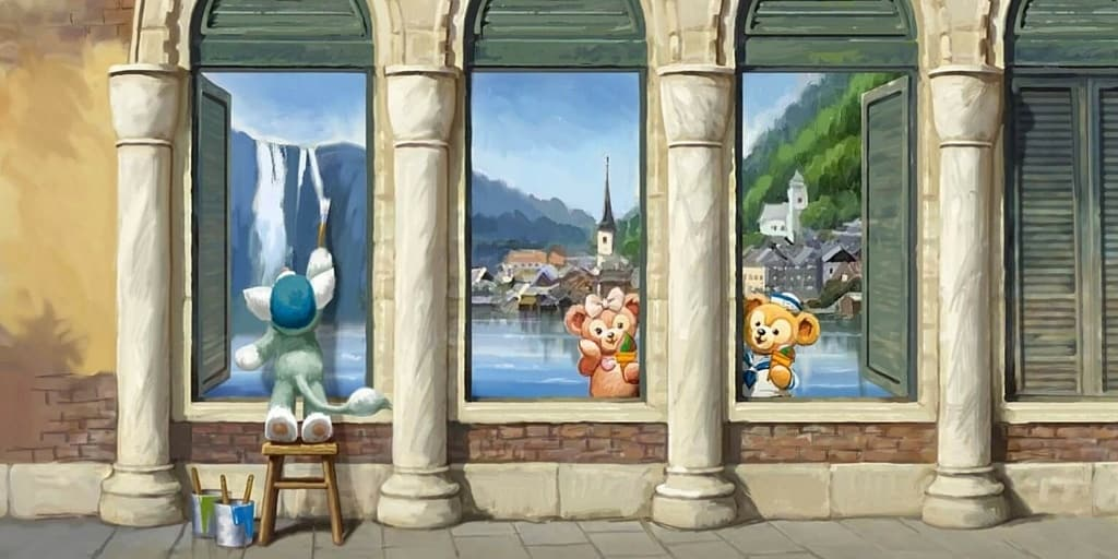 New Gelatoni Artwork & Merchandise Coming July 2016 to Tokyo DisneySea