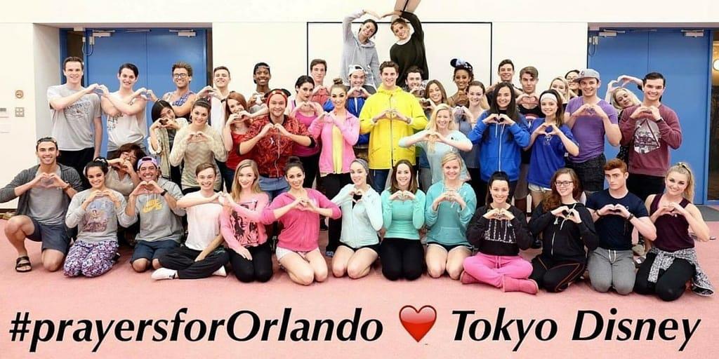 Tokyo Disney Resort Cast Members Show Support for Orlando • TDR Explorer
