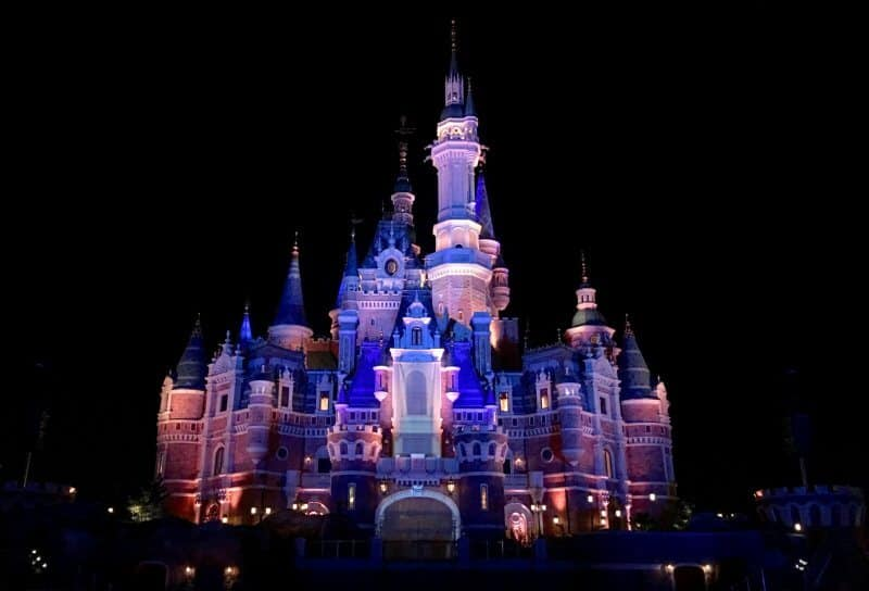 Enchanted Storybook Castle Shanghai Disneyland Grand Opening