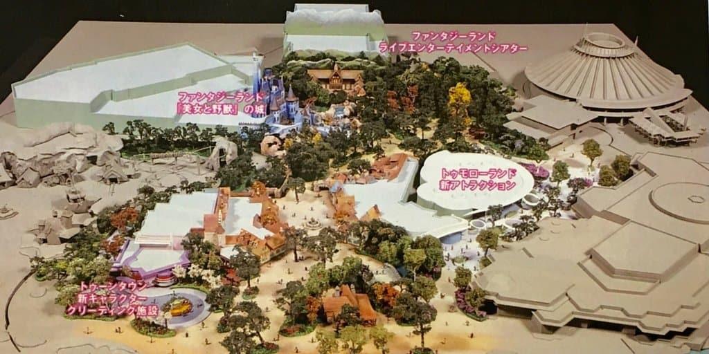 Fantasyland expansion model at tokyo disney tdr explorer image of fantasyland expansion model at tokyo disneyland sciox Image collections