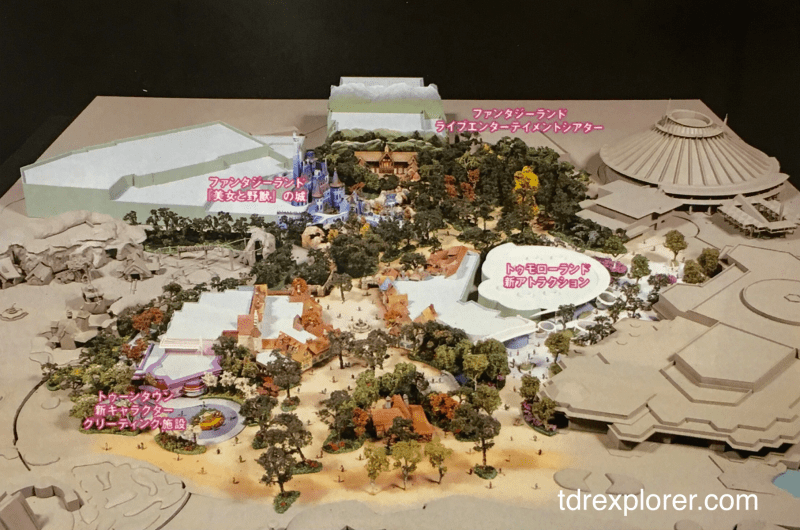 Fantasyland Expansion Model High Res