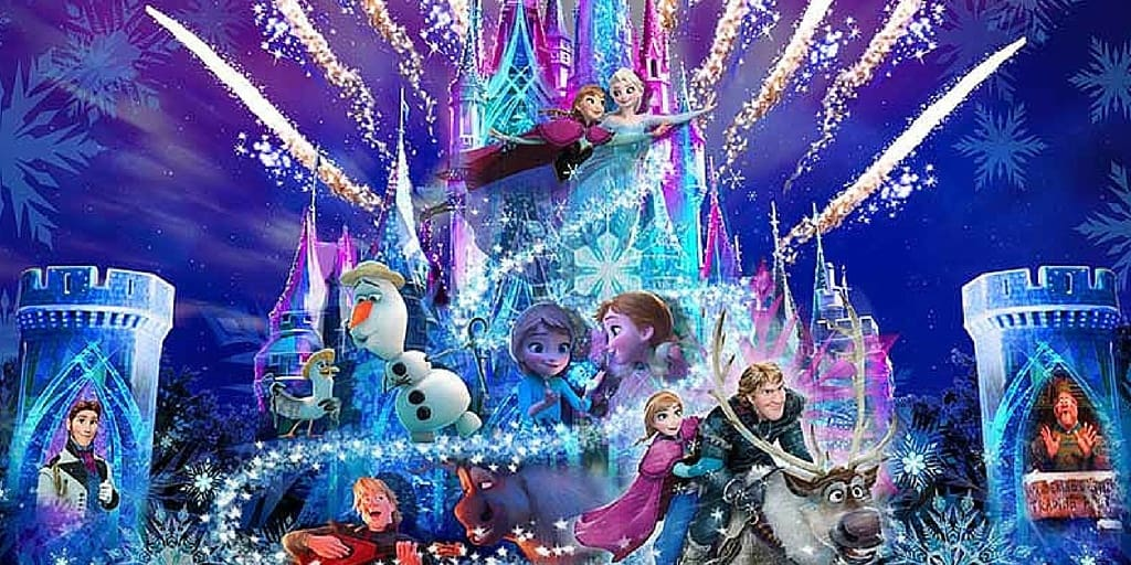 """""""Frozen Forever"""" Nighttime Projection Show Coming to Tokyo Disneyland in 2017"""