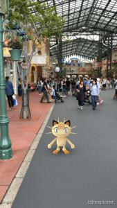 Meowth Tokyo Disneyland Pokemon GO