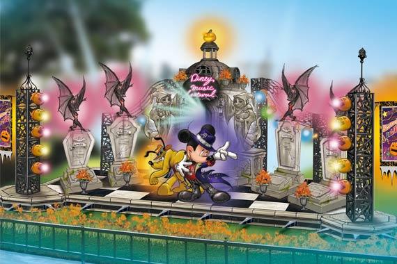 mickey pluto tokyo disneyland halloween 2016 decoration - When Does Disneyland Decorate For Halloween
