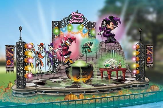 minnie mouse clarice daisy tokyo disneyland halloween 2016 decoration - When Does Disneyland Decorate For Halloween