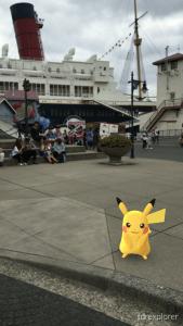 Pikachu Tokyo DisneySea Pokemon GO