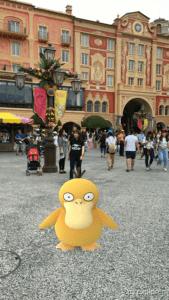 Psyduck Tokyo DisneySea Pokemon GO