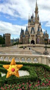 Staryu Tokyo Disneyland Pokemon GO