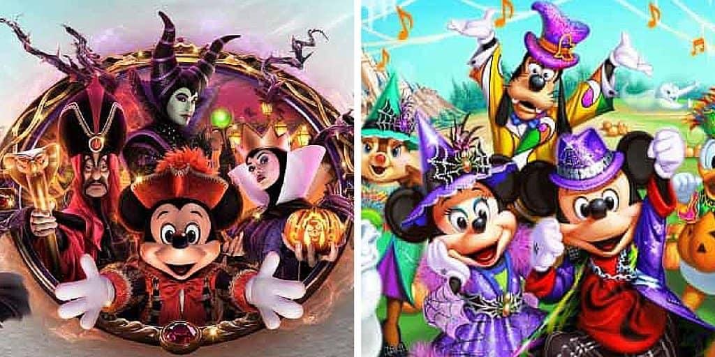 Tokyo Disneyland & Tokyo DisneySea Halloween 2016 Details