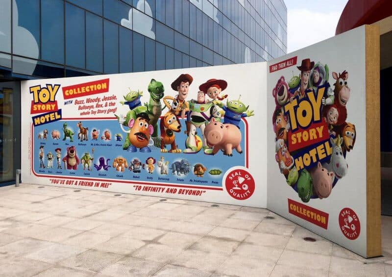 Toy Story Hotel Entrance Side Shanghai Disneyland Grand Opening