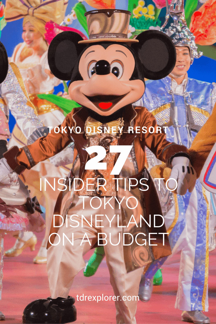 27 Insider Tips to Tokyo Disneyland on a Budget pinterest