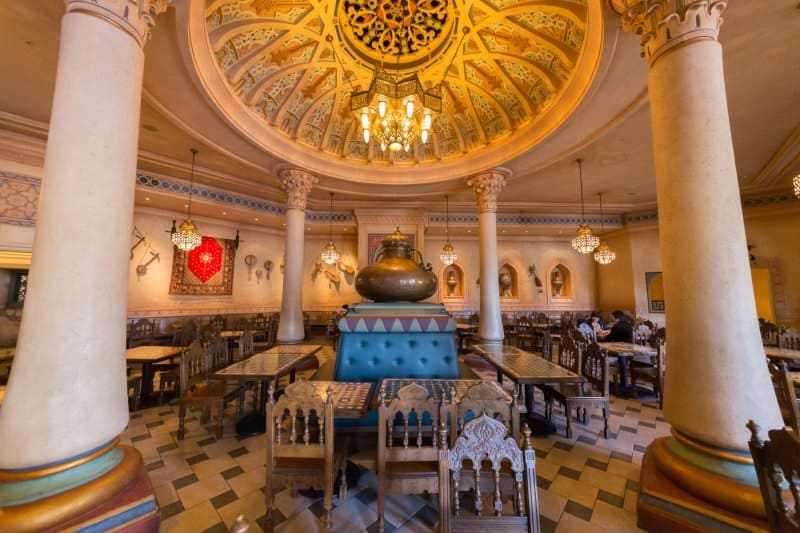 Casbah Food Court Royal Side Interior Tokyo DisneySea