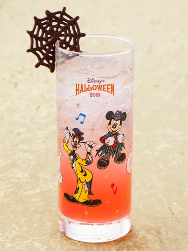 Disney's Halloween Special Non-Alcoholic Cocktail with Collectible Glass ¥1,860 Please Note: Cocktail is also available at Restaurant Hana, Hyperion Lounge and Chef Mickey's