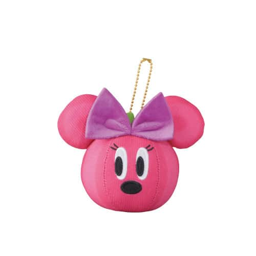 Minnie Pumpkin Stuffed Badge ¥1,300