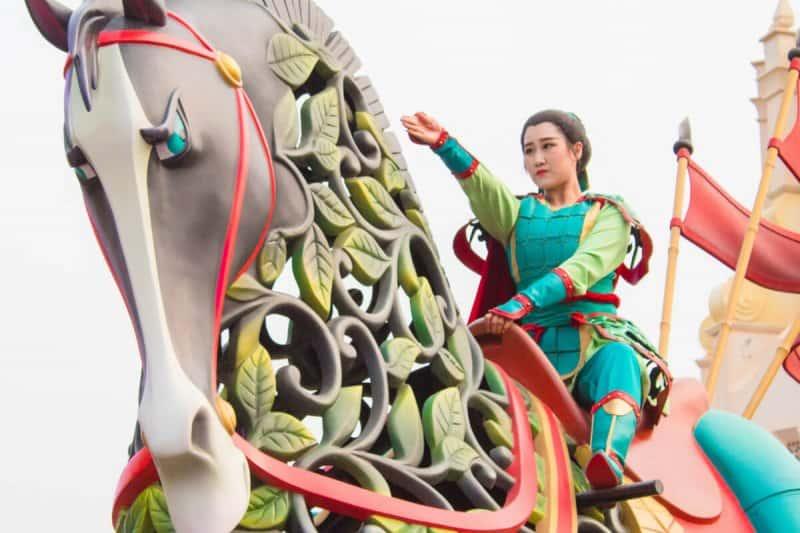 Mulan Shanghai Disneyland