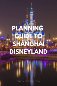 planning guide to shanghai disneyland