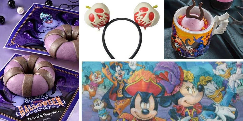 Halloween 2016 Merchandise and Food at Tokyo DisneySea