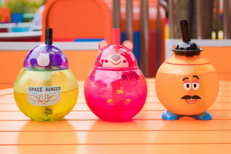 Toy Story Land Collectible Cups Shanghai Disneyland