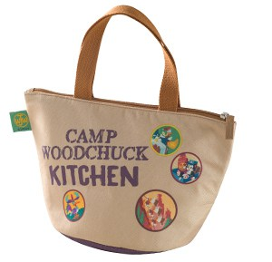 Camp Woodchuck Souvenir Lunch Case (Back)