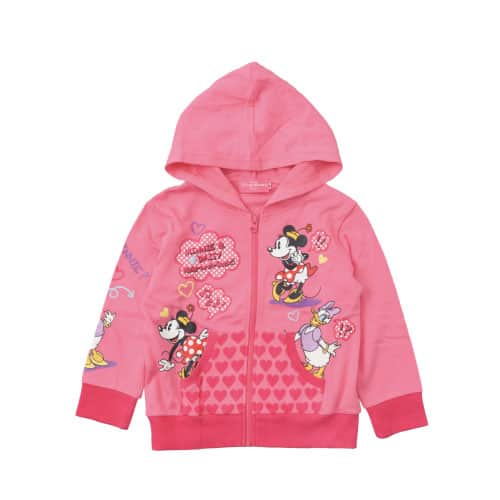 Children's Hoodie Sizes and Prices 100, 110, 120 cm ¥3,900 Available now at Baby Mine and Kiss de Girl Fashion