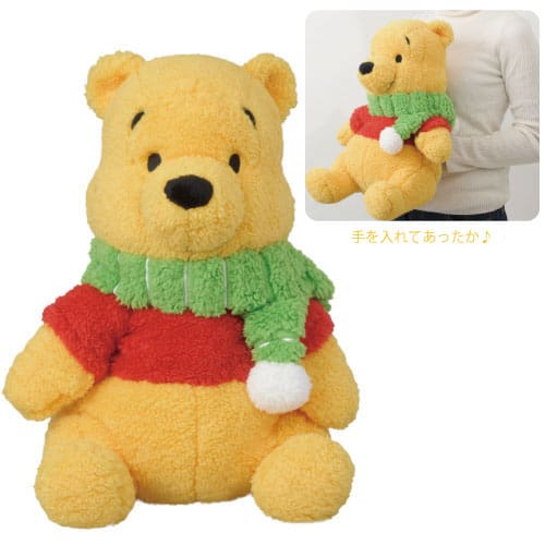 Pooh Cushion ¥2,800 Available from October 3