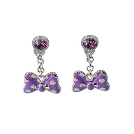 Purple Earrings ¥2,000