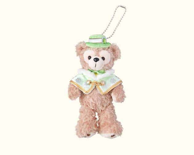 Duffy Stuffed Badge ¥1,800 Costume is from the Colors of Christmas Night-Time Harbor Show that starts November 8