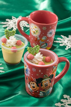 Custard Pudding, with Souvenir Cup ¥750 Available at the following locations... Sweetheart Cafe Hungry Bear Restaurant Grandma Sara's kitchen Captain Hook's Galley Tomorrowland Terrace Plaza Restaurant